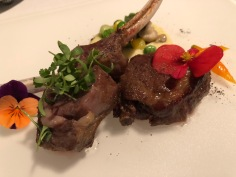 Provence inspired lamb rack