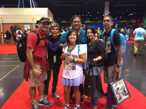 A bunch of us gathered together at D23 Expo!