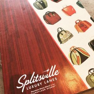 Menu cover from Splitsville