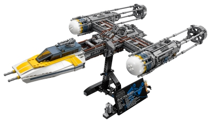 Beautiful shot of the Ultimate Collector's Series Y-Wing being released for LEGO's May the 4th promotion