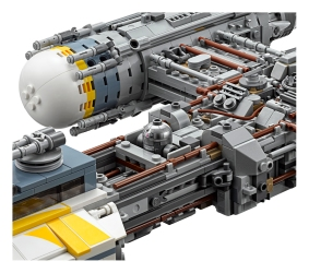 Close up of the detail involved in the new Y-Wing set