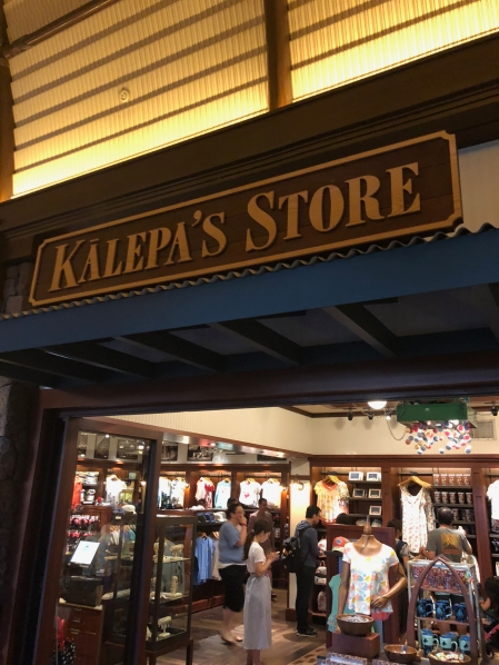 The front of Kalepa's Store on the main level opposite side from the registration desk