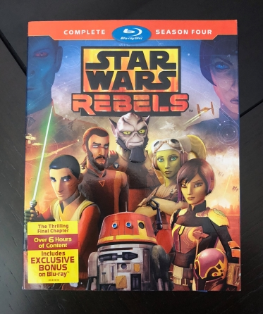 Front cover of Star Wars Rebels Season 4