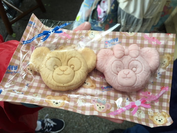 Duffy sweets - pastries with filling shaped as Duffy and ShellieMae