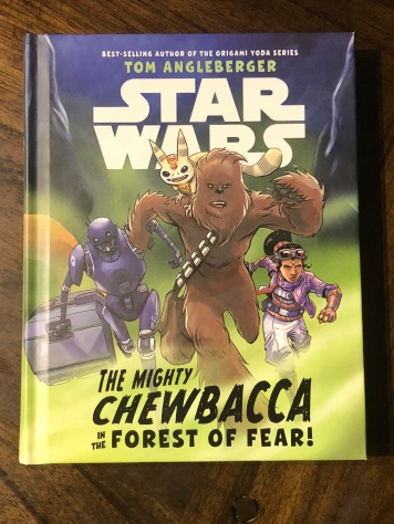 The cover for The Mighty Chewbacca In The Forest of Fear