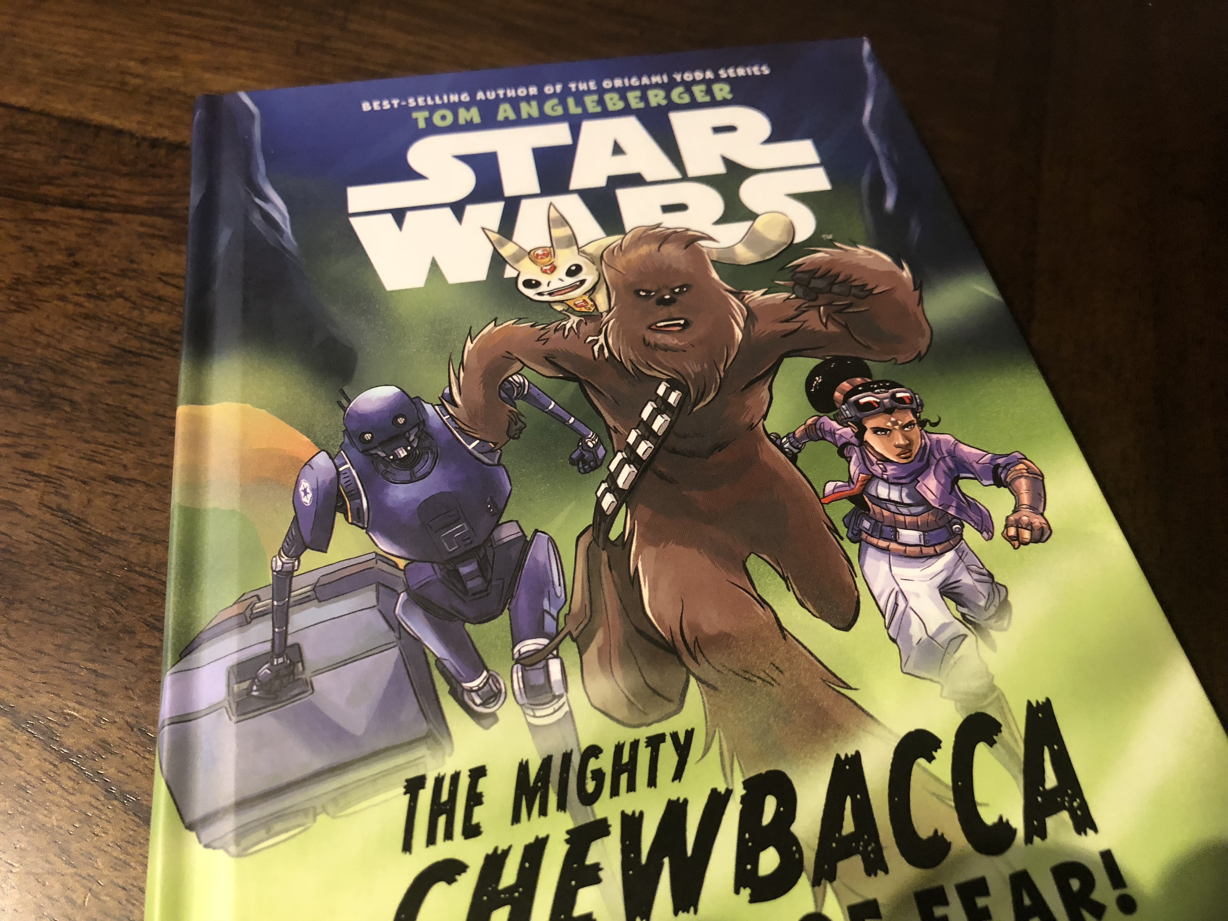 The Mighty Chewbacca In The Forest of Fear – A Mighty Book Indeed! (book review)