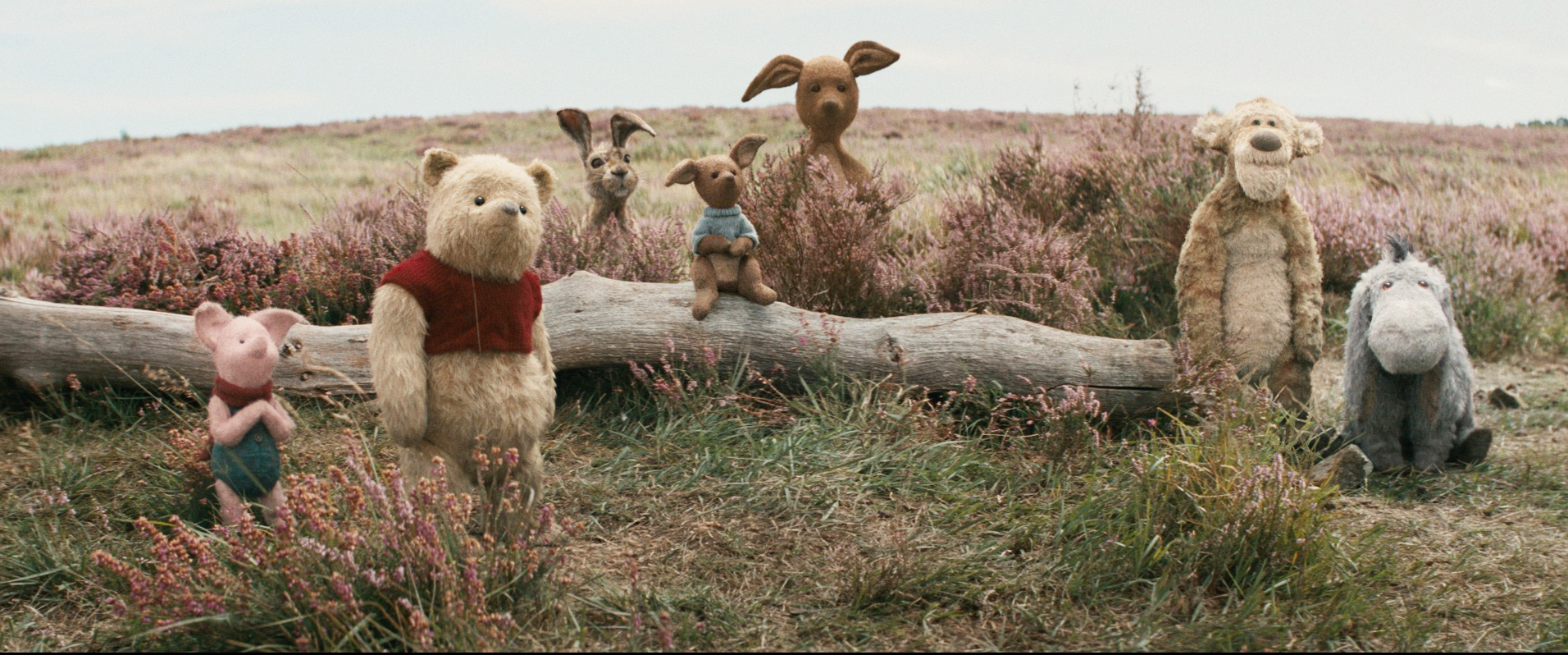 Christopher Robin Brings Pooh Bear to Life – Literally