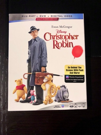 Cover of the Christopher Robin Blu-Ray