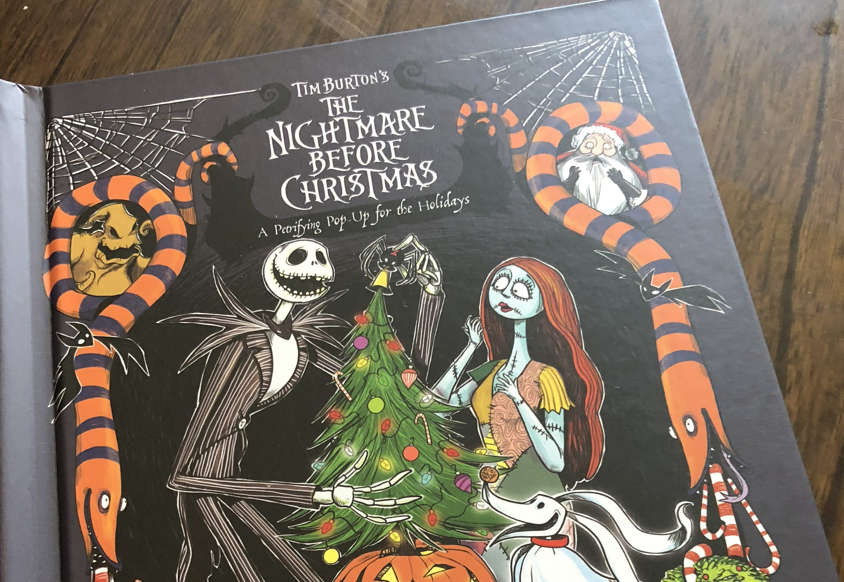 Nightmare Before Christmas Pop-Up Book is a Dream!