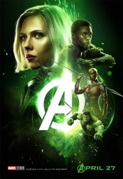 Promo poster for Avengers: Infinity War