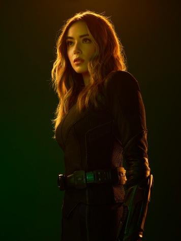 "MARVEL'S AGENTS OF S.H.I.E.L.D. - ABC's ""Marvel's Agents of S.H.I.E.L.D."" stars Chloe Bennet as Daisy Johnson. (ABC/Matthias Clamer)"