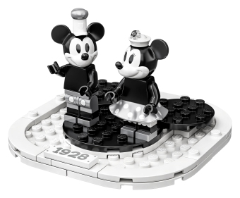 Mickey and Minnie display stand