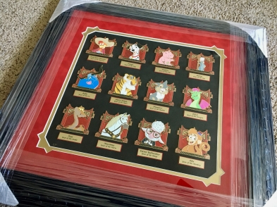 My pride and joy from D23 Expo 2017 - Disney Chinese Zodiac complete Artist Proof set