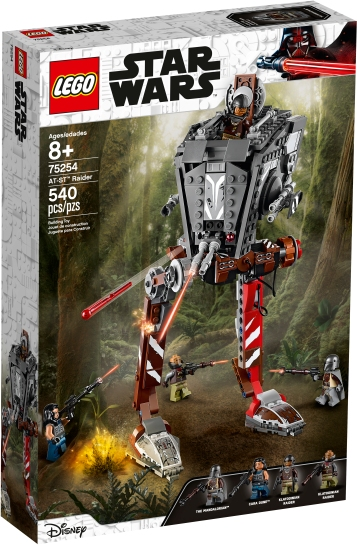 The box image of the AT-ST from the new television series, The Mandalorian