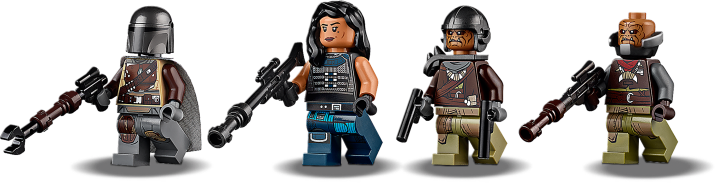 AT-ST Mandalorian minifigures