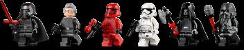 Kylo Ren's shuttle minifigures