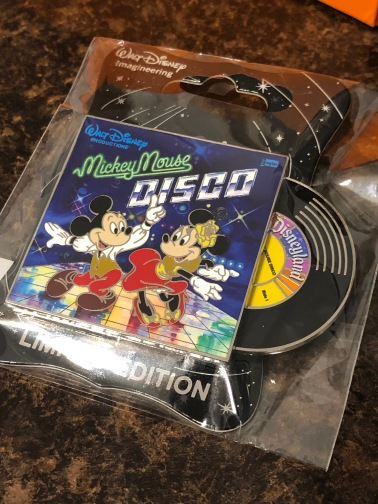 Mickey's of Glendale did have some cute pins in their regular store too like this one celebrating Mickey Mouse Disco