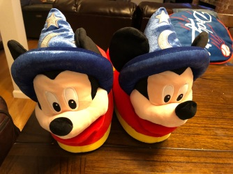Happy Feet featured these Mickey Sorcerer slippers