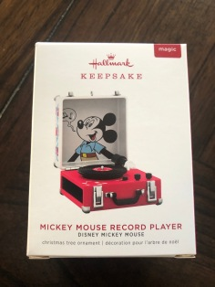 Look for this box to get your own Mickey Mouse Record Player!