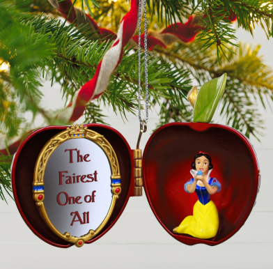 This ornament truly makes Snow White the Fairest One of All