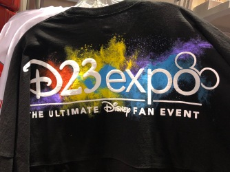 The popular spirit jersey done D23 Expo style