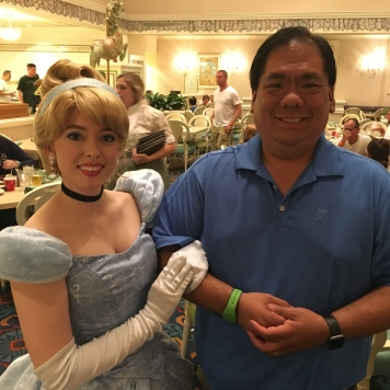 Of course, what would Disney be without the people who bring the characters to life!