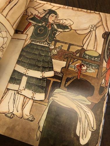 Classically Asian inspired art of Mulan