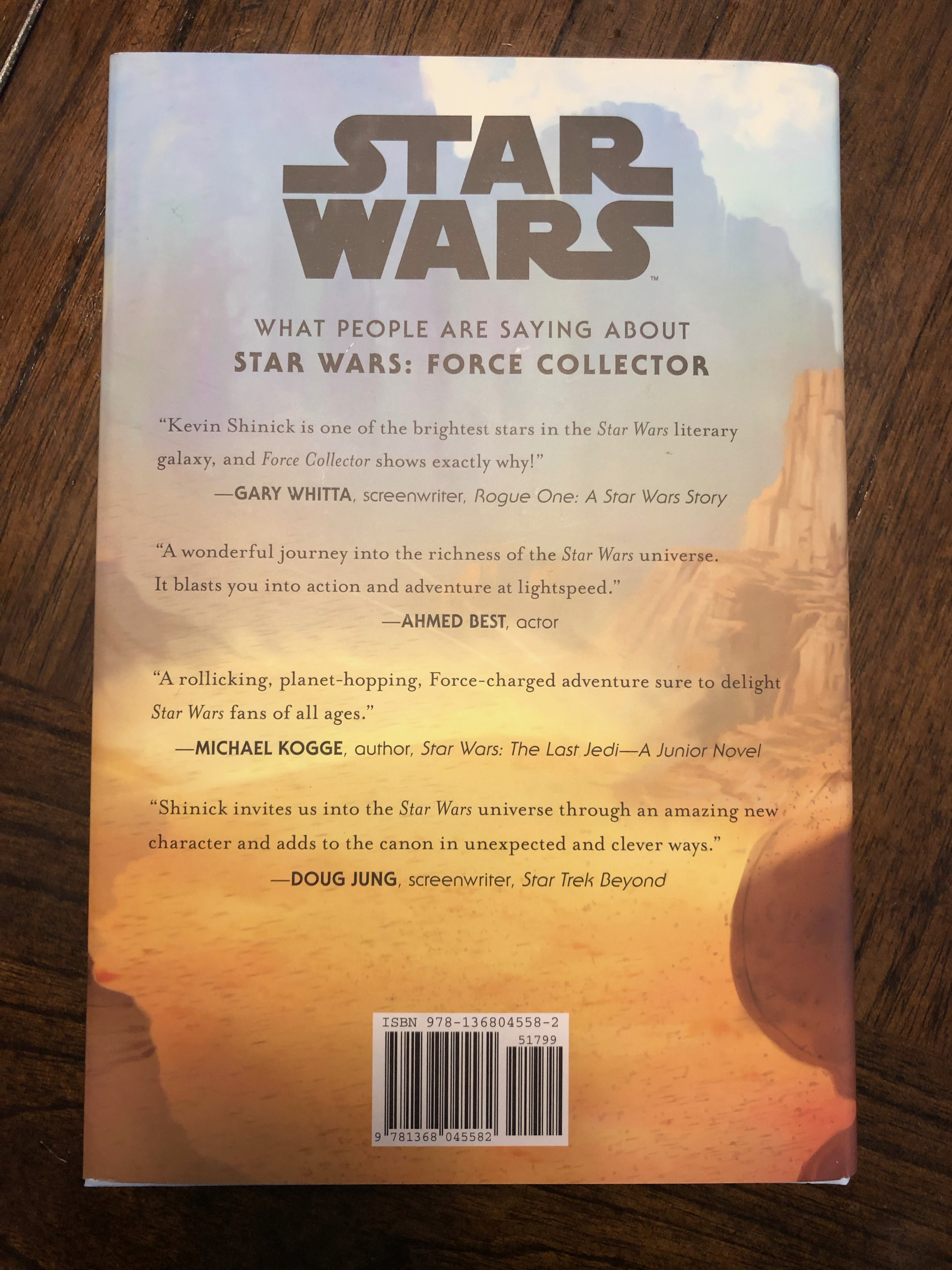 Force Collector Harry Potter For Star Wars Book Audiobook Review Disney Nerds