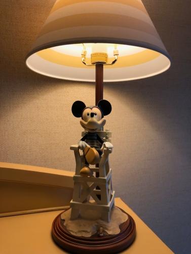 Loving this Mickey lifeguard lamp