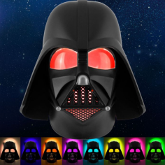 Darth Vader Rotating Lights Night Light
